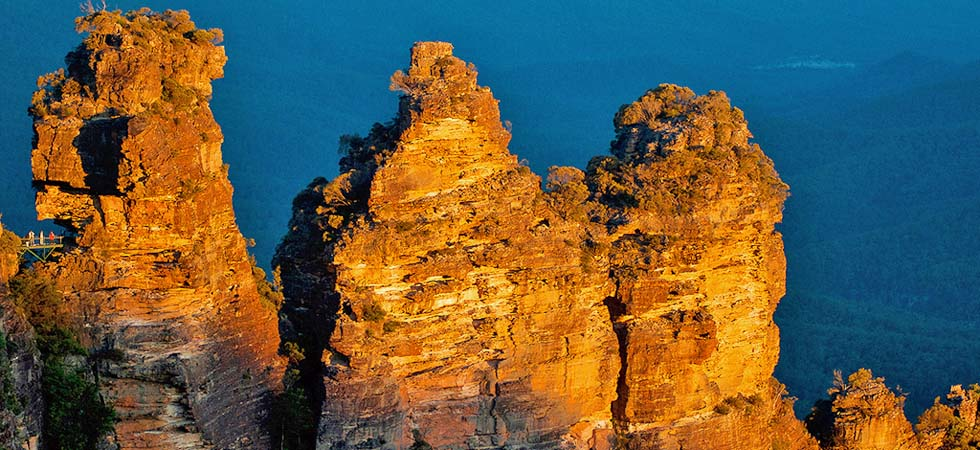 We are only 400 metres to Echo Point lookout for the world famous 3 Sisters rock formation.